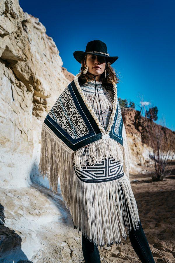 Ursala Hudson Chilkat Ravenstail weaving